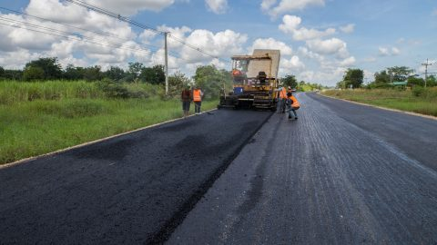 Crushed Aggregates Used for Building Roadways